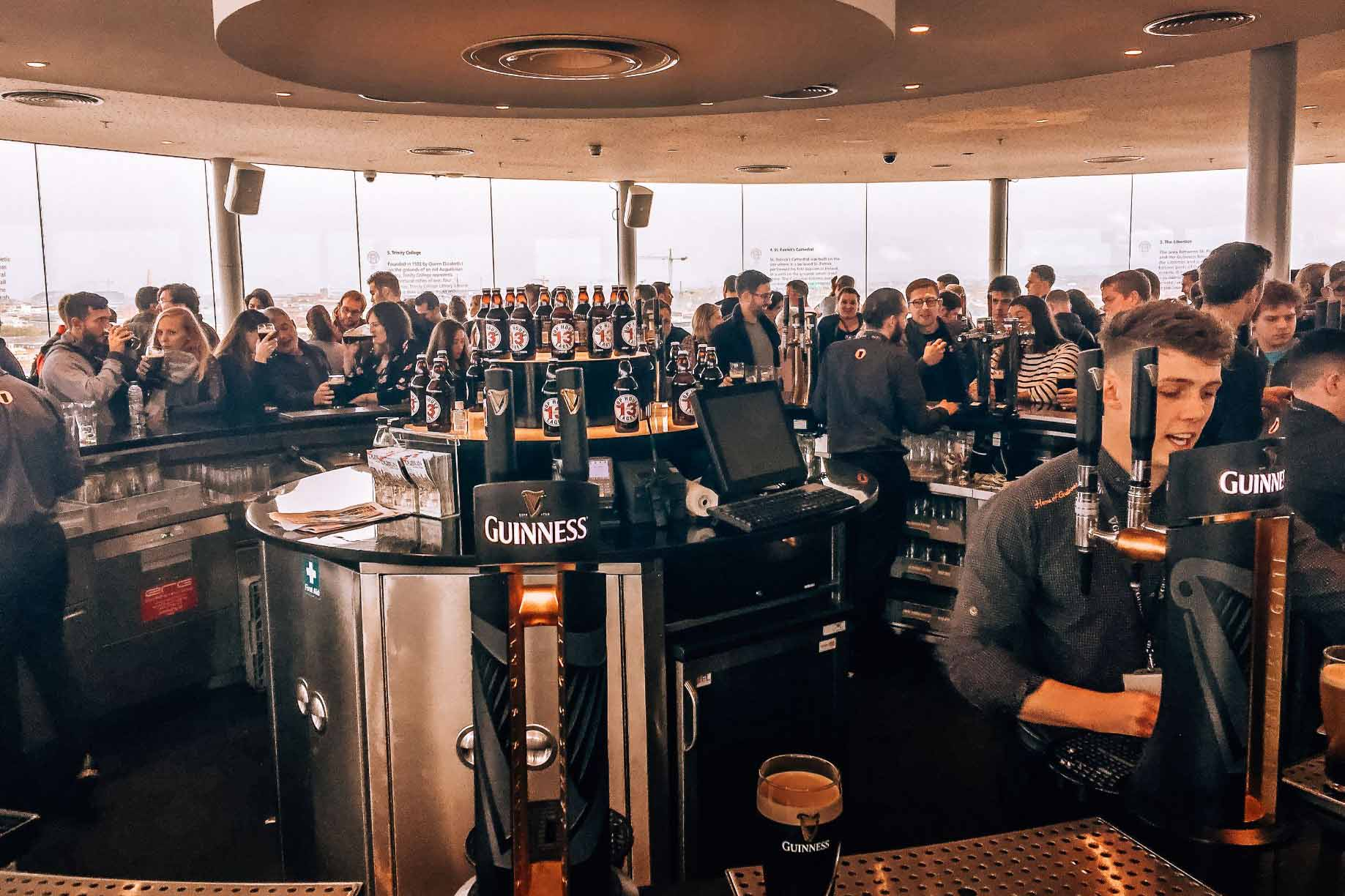 Gravity Bar at the Guinness Storehouse