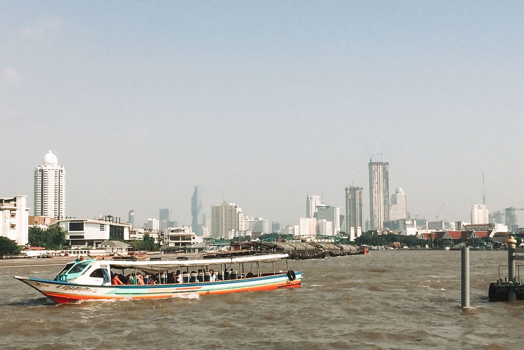 river boat in bangkok thailand - bucket list travel