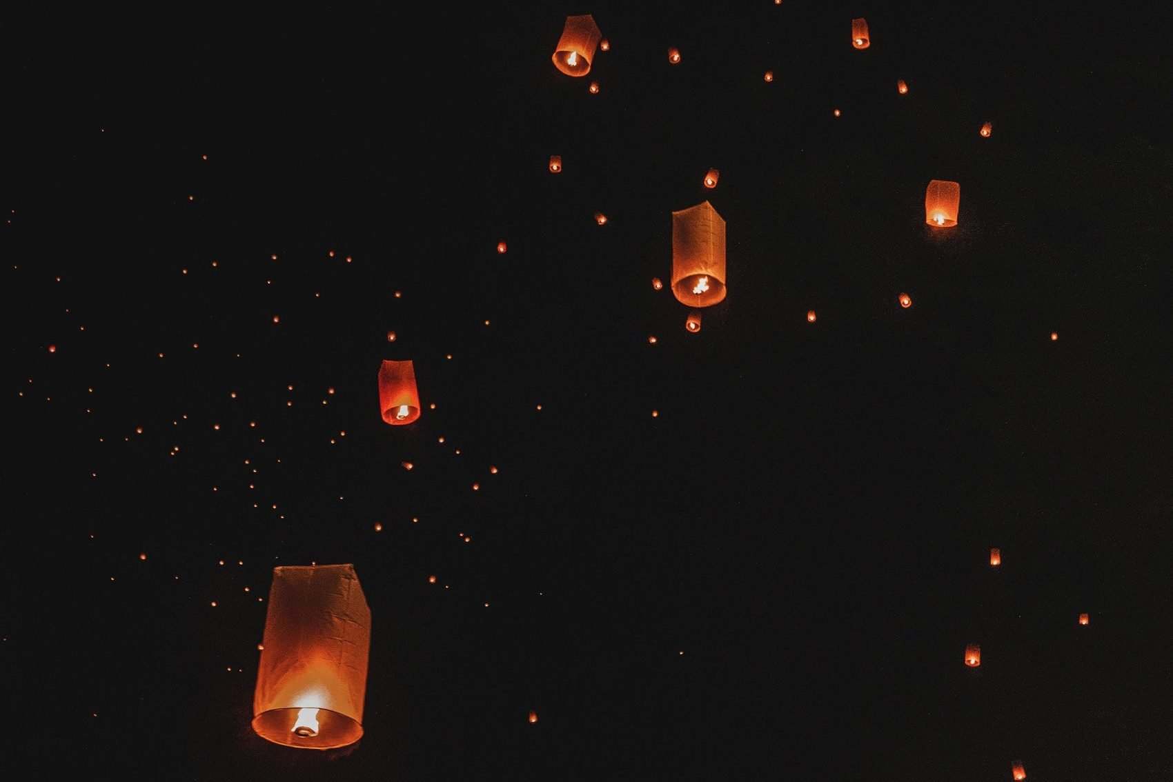Chiang Mai lantern festival in Thailand -bucket list travel