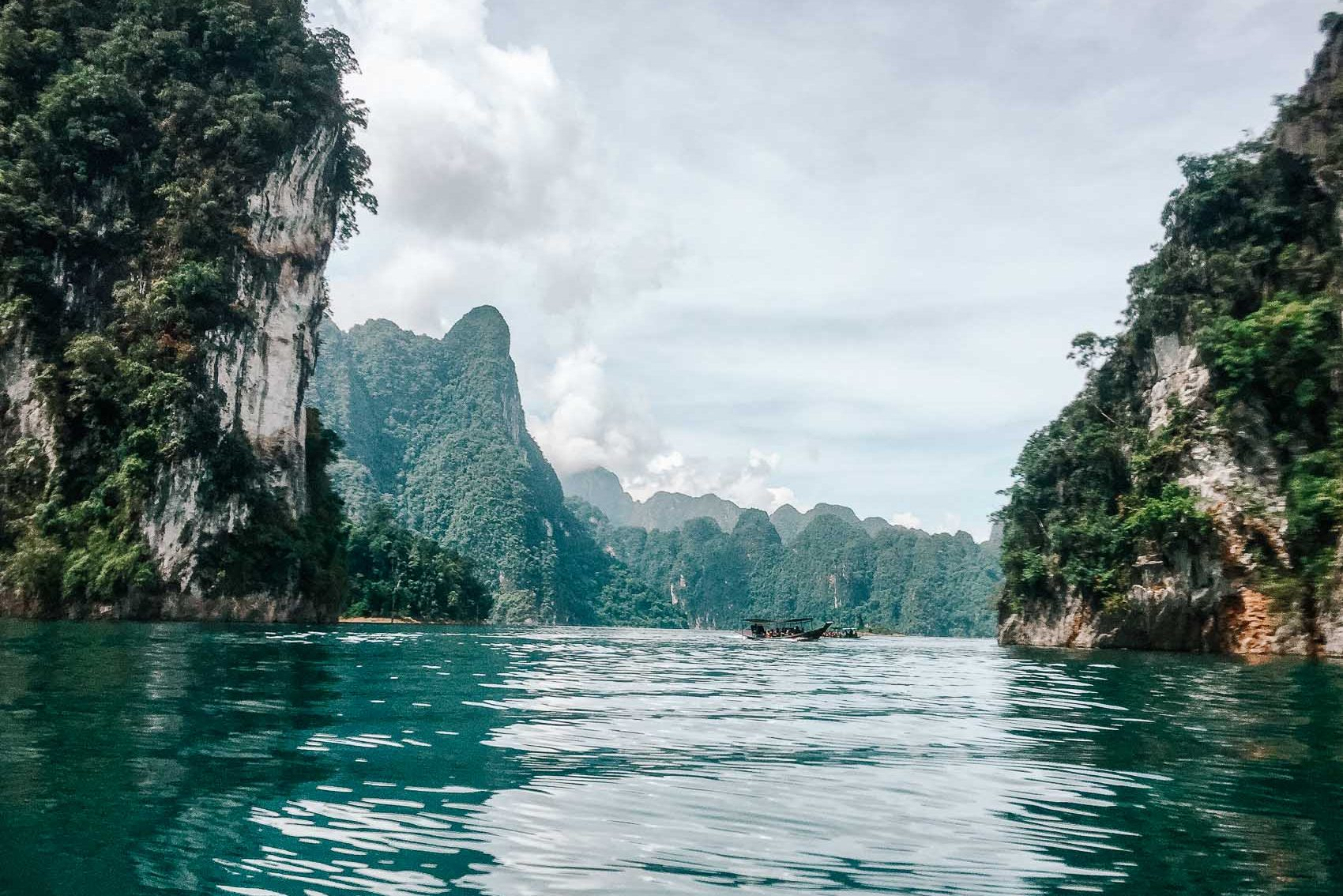 Cheow Larn Lake at Khao Sok National Park in Thailand - bucket list travel