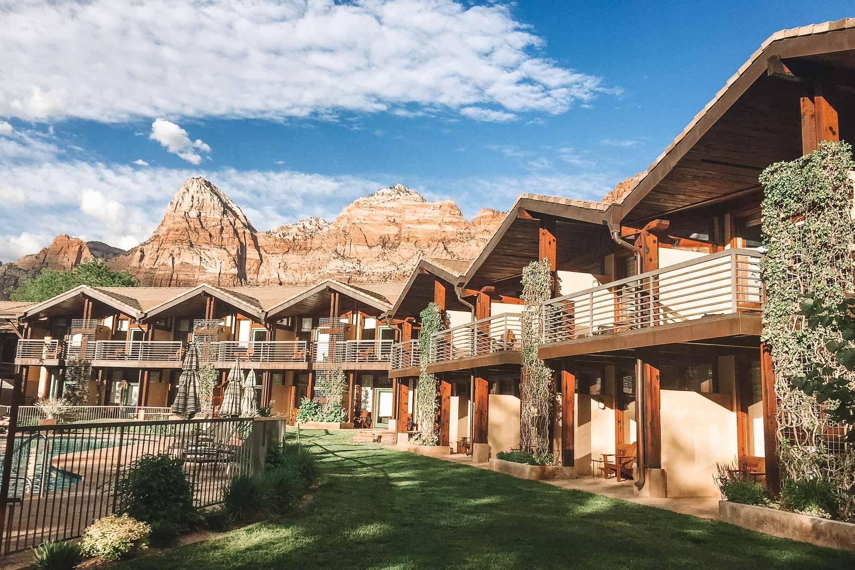 Desert Pearl Inn near Zion National Park in Utah - bucket list travel